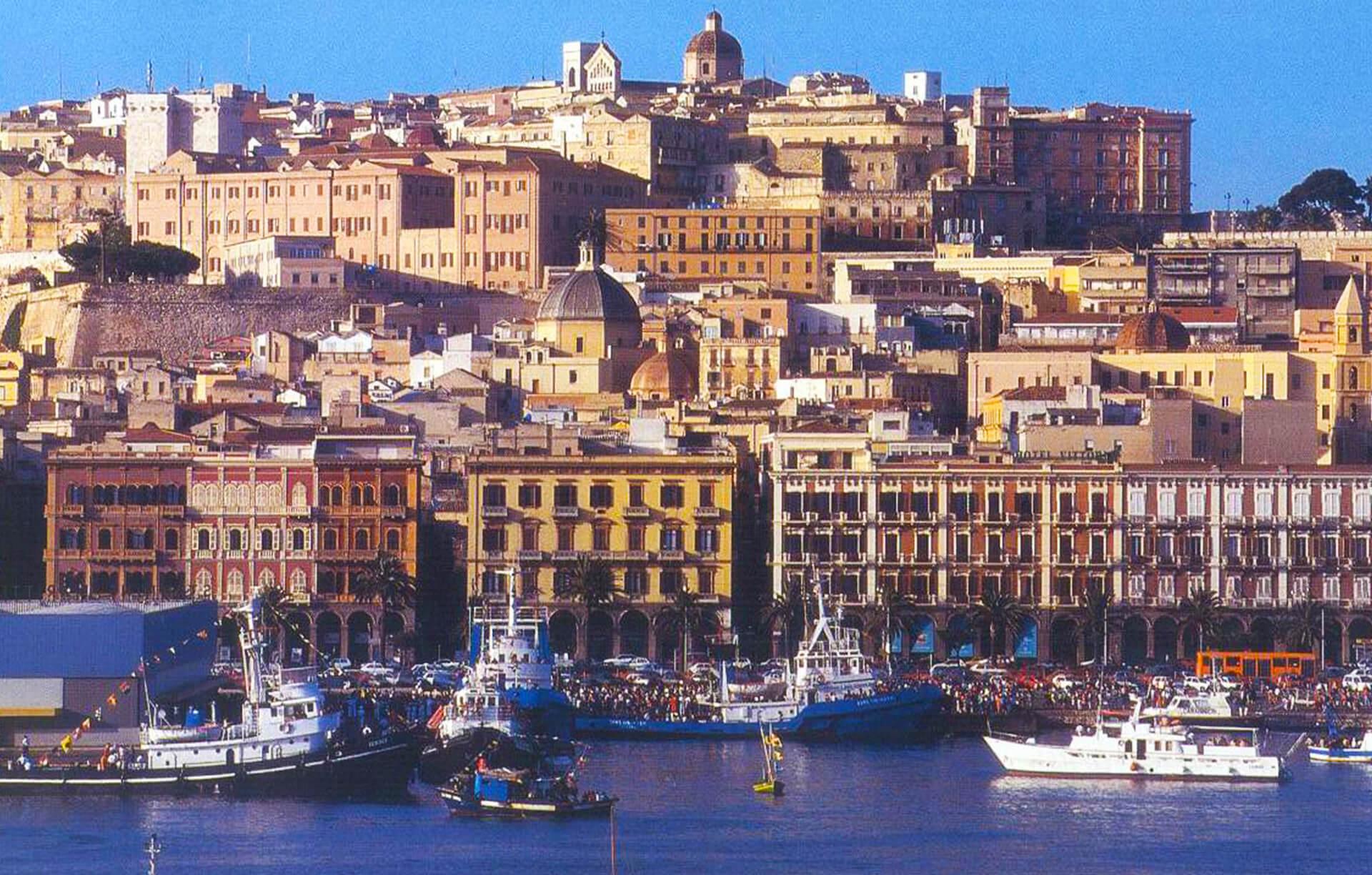 Itinerario citta di Cagliari
